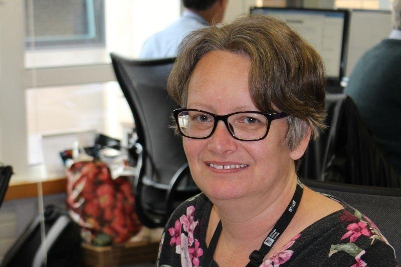 Journey to Work participant Sarah Champniss