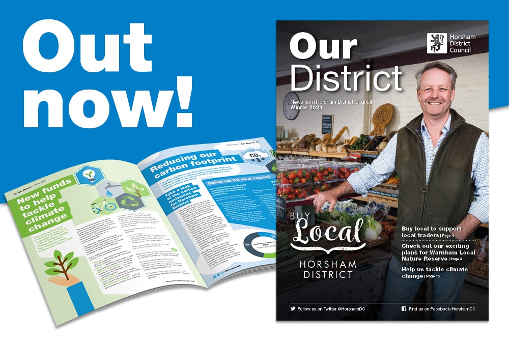 Our District Winter 2021 is out now