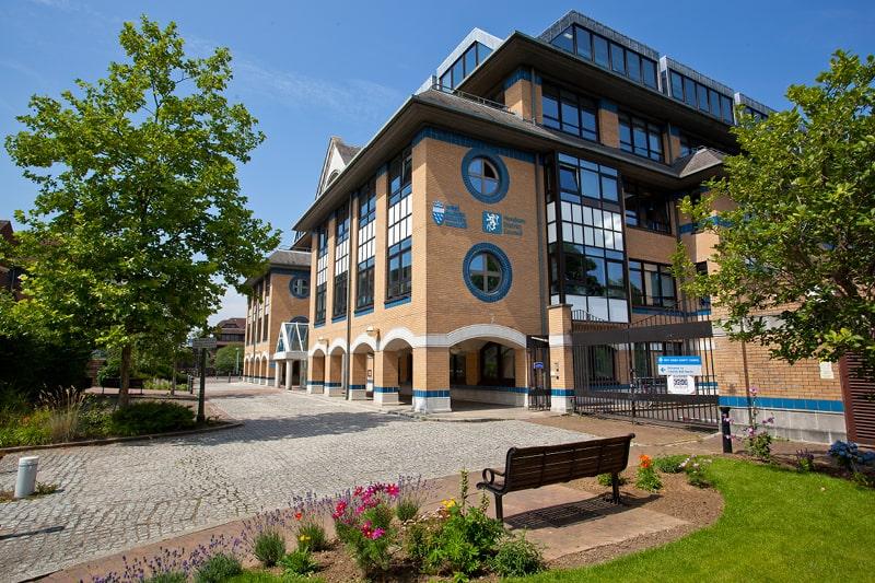 Parkside office building in Horsham